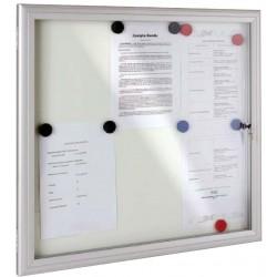 Visuel de la vitrine d'affichage et d'exposition extérieure Reverso