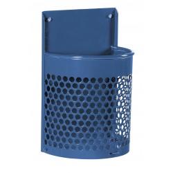 Visuel de la poubelle publique en métal