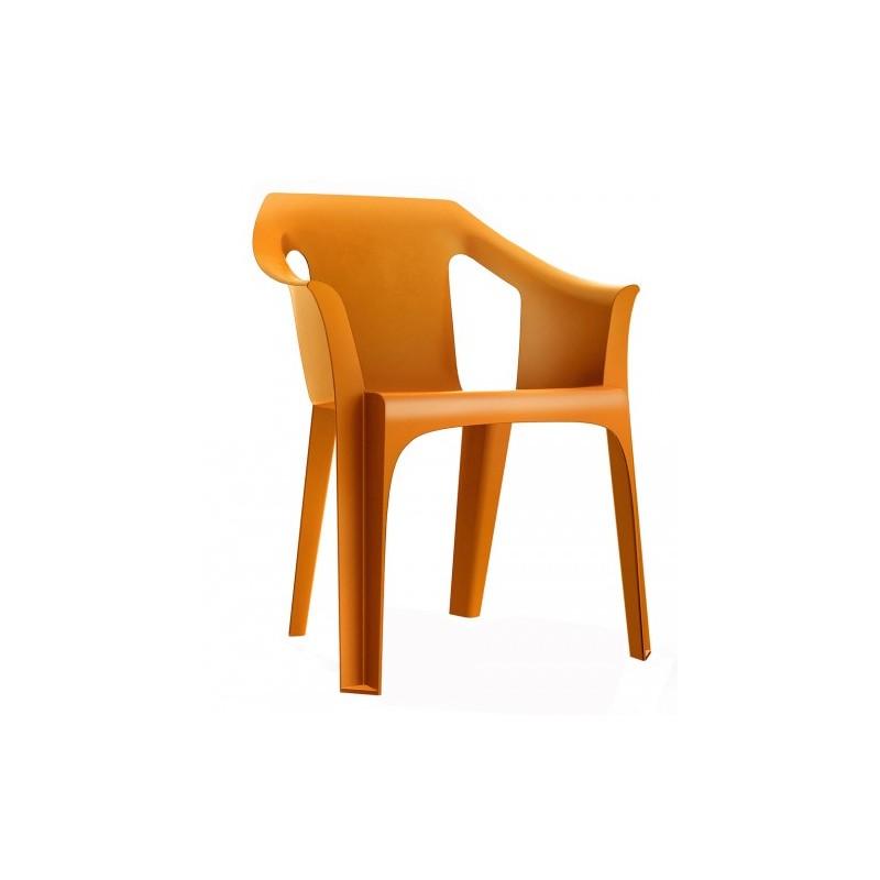 Fauteuil d 39 ext rieur en plastique dmc direct for Chaise plastique exterieur