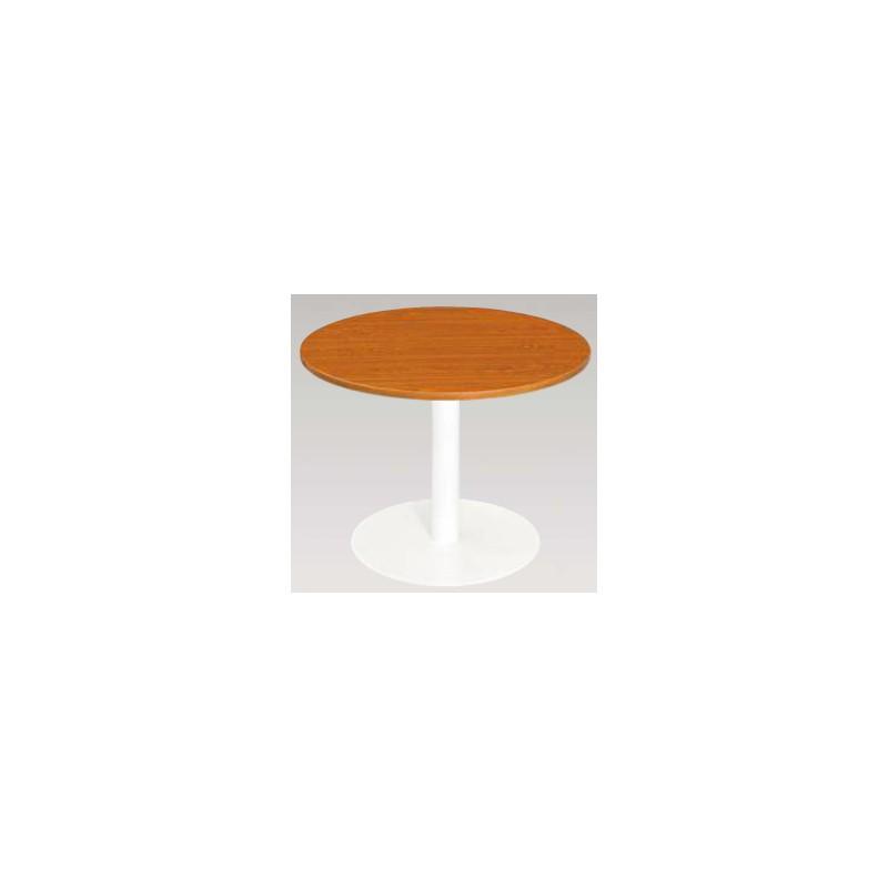 Table ronde avec pi tement central pour collectivit s for Pietement table ronde