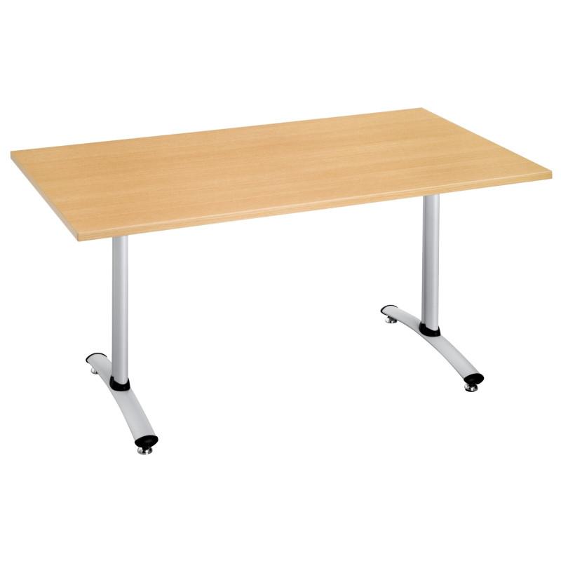 Table de réunion rectangulaire ou ovale