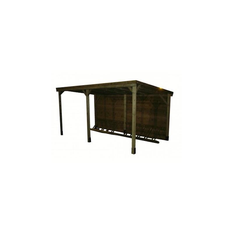 abri range v lo en bois 5 places abri range v lo en bois 10 places dmc direct. Black Bedroom Furniture Sets. Home Design Ideas