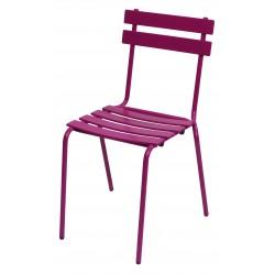 Chaise empilable en métal