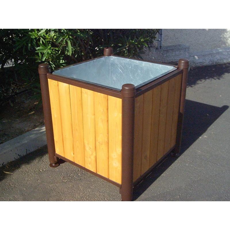 jardini re pour collectivit jardini re urbaine en pin. Black Bedroom Furniture Sets. Home Design Ideas