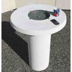 TABLE BETON PAUSE CAFE