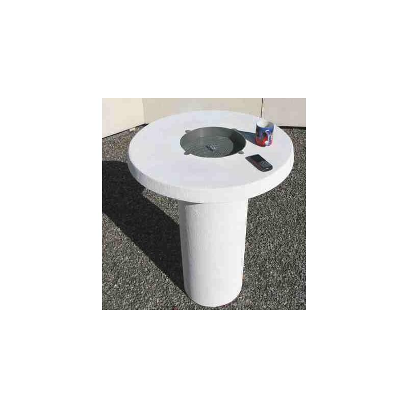 mobilier b ton table pause caf en b ton. Black Bedroom Furniture Sets. Home Design Ideas