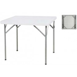 TABLE PLIANTE CARREE 87 X 87 CM