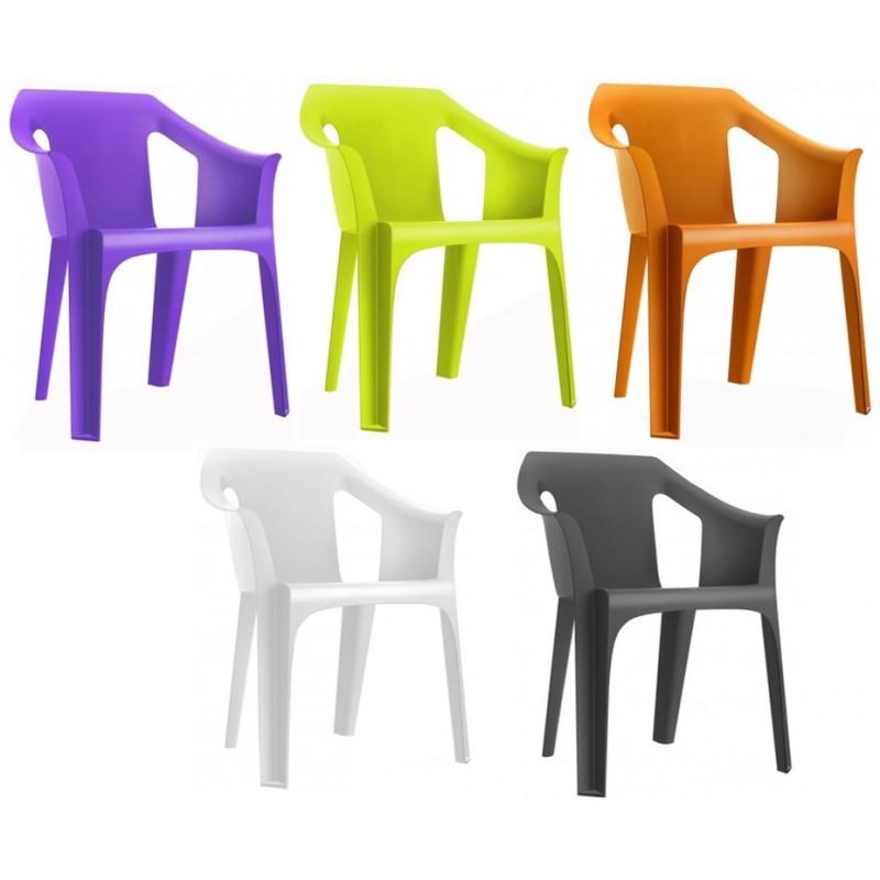 fauteuil ext rieur en plastique polypro fauteuil en. Black Bedroom Furniture Sets. Home Design Ideas