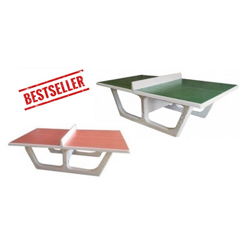 Table ping pong en b ton tennis de table en b ton rondo table de ping pong en b ton - Table ping pong exterieur beton ...