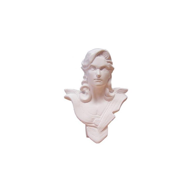 Buste de Marianne de bureau modèle Chavanon H 18 cm