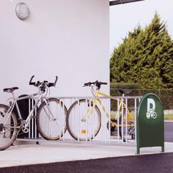 Visuel du range vélos 16 places
