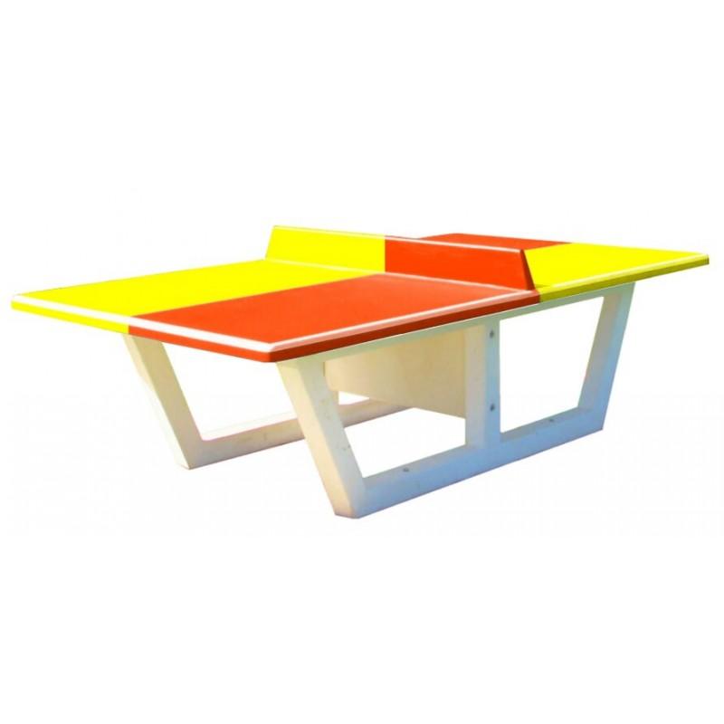 quipements pour collectivit s table de ping pong b ton dmc direct. Black Bedroom Furniture Sets. Home Design Ideas
