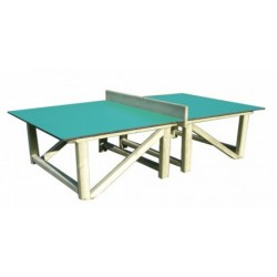 Visuel de la table de tennis de table en compact