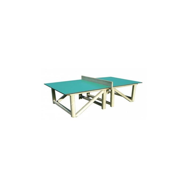Visuel de la table de tennis de table en compact