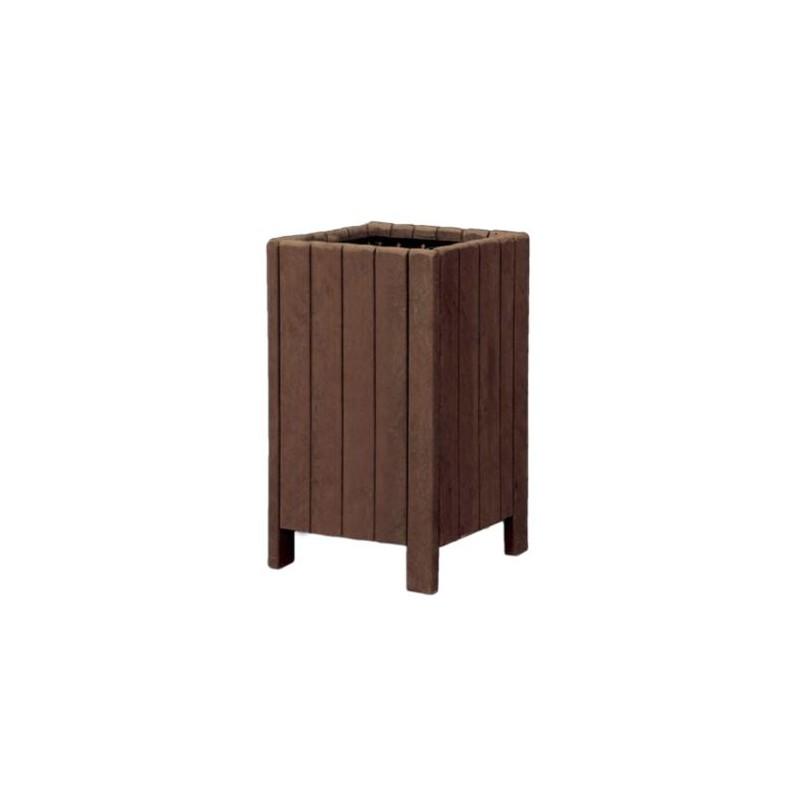mobilier urbain en recycl corbeille de rue en plastique recycl dmc direct. Black Bedroom Furniture Sets. Home Design Ideas