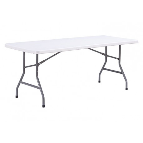 Table pliante 183 cm en polypropylène