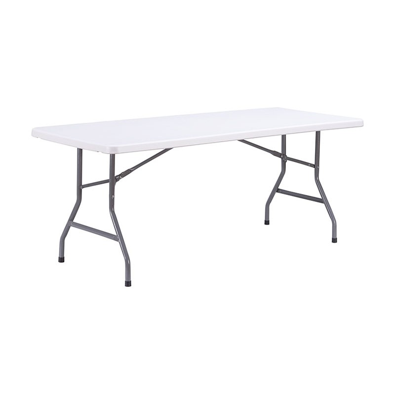 Table pliante en plastique table pliante polypropyl ne - Table de bridge pliante ...