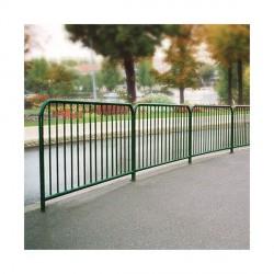 Barrière de ville à barreaux acier