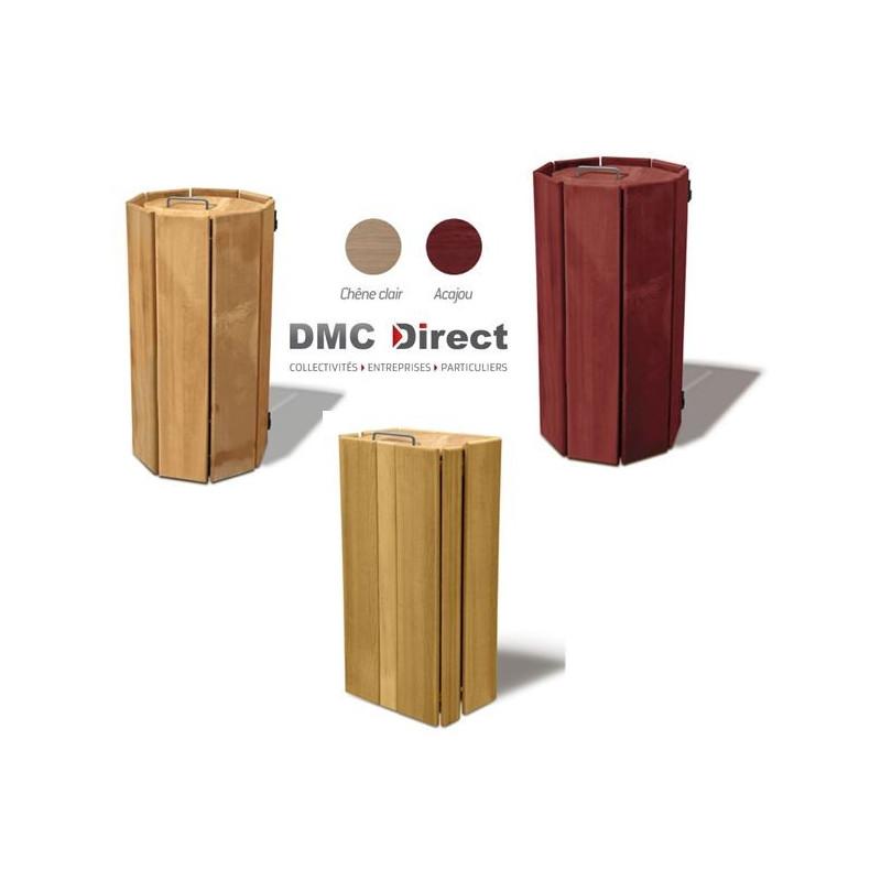 Corbeille Séville en bois exotique 100 Litres - DMC Direct
