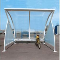 Visuel de l'abri vélo en demi-lune