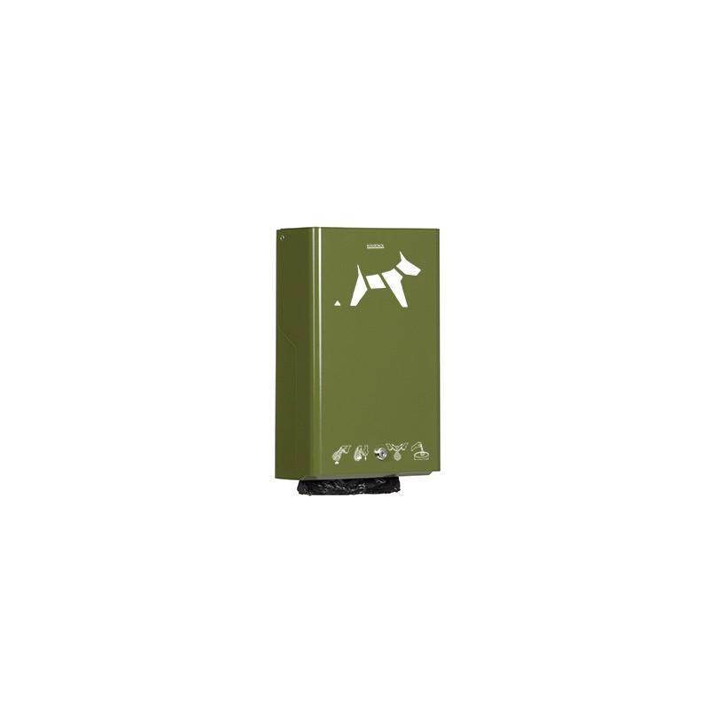 Distributeur de sachets pour hygiène canine