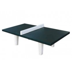 Match Table de ping pong à 4 pieds tout en béton