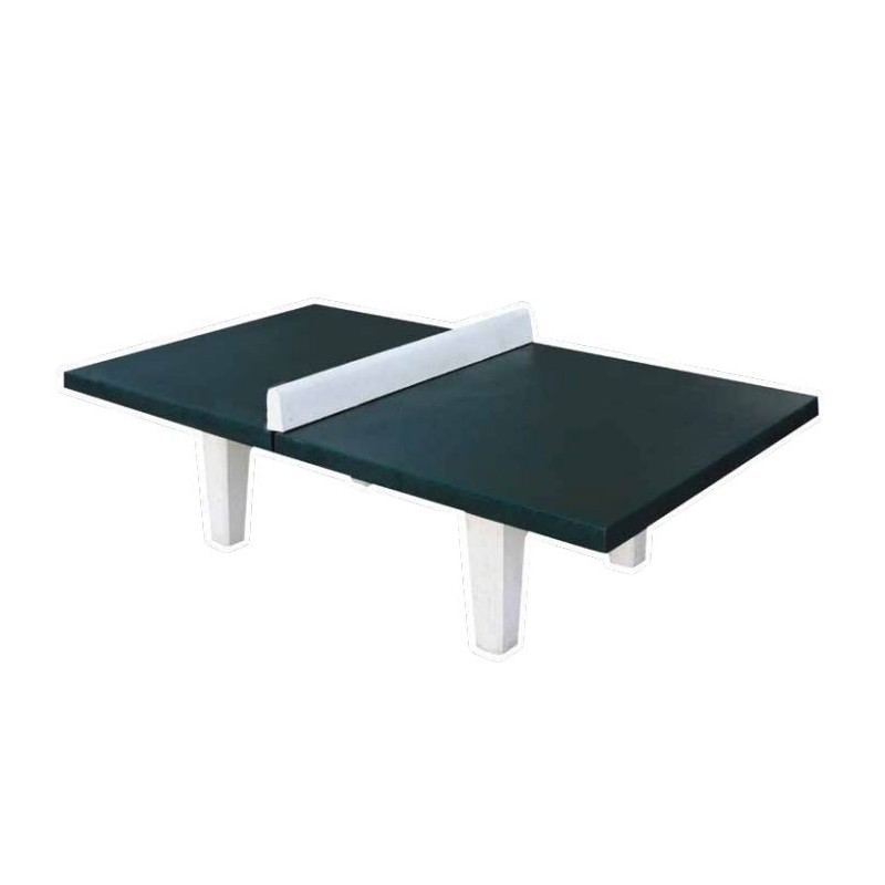 Mobilier urbain de jeu en b ton table de ping pong en b ton dmc direct - Table ping pong exterieur beton ...