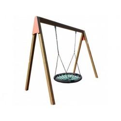 Visuel de la balançoire pour aire de jeux