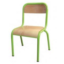 Chaise maternelle Emma à 4 pieds - DMC Direct