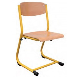 Chaise scolaire appui table pour maternelle Laura