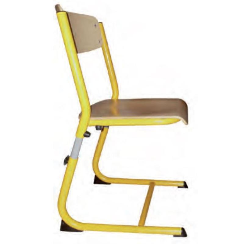 Chaise scolaire appui table & réglable pour maternelle Laura - DMC Direct
