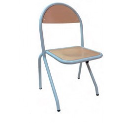Chaise maternelle empilable Nelly - DMC Direct