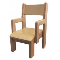 Chaise pour maternelle empilable en bois Louanne - DMC Direct