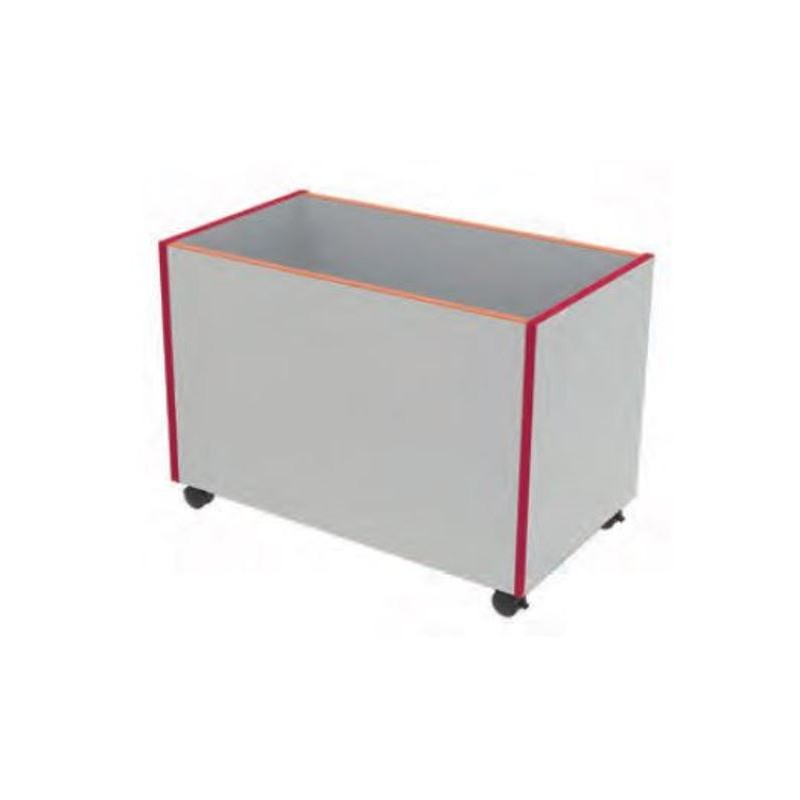 coffre de rangement 224 roulettes mobilier rangement maternelle dmc direct
