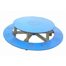 Table de pique-nique ronde pour enfants