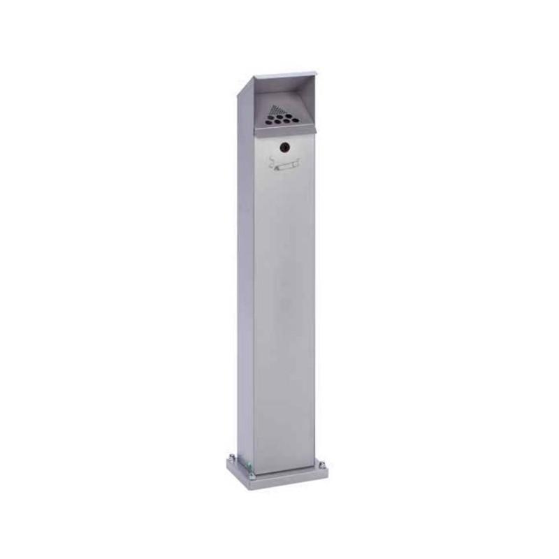 Cendrier colonne extérieur - argent - DMC Direct