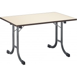 Table pliante mélaminé rectangle Varèse