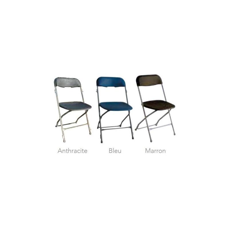 Chaise pliante Viky - nuancier - DMC Direct