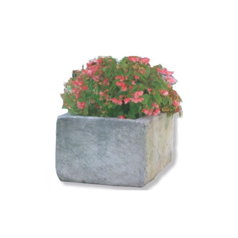 Visuel de la Jardinière auge en pierre reconstituée - DMC Direct