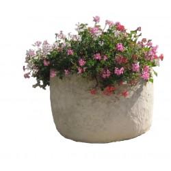 Jardinière ronde en pierre reconstituée