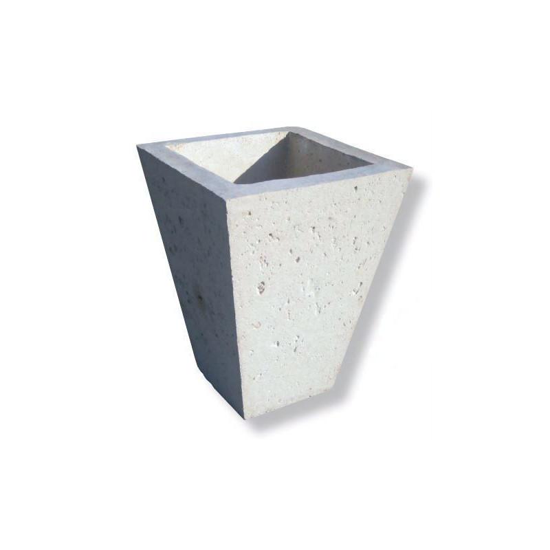 Visuel de la Jardinière vase cône en pierre reconstituée - DMC Direct