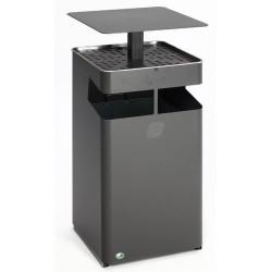 Cendrier/ poubelle 38 L ou 72 Litres