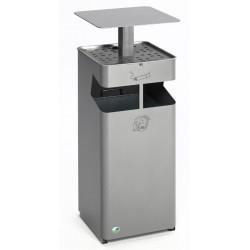 Cendrier/poubelle 38 Litres