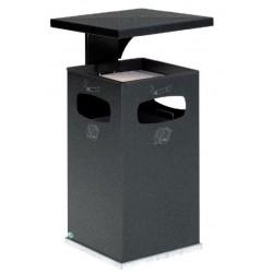 Cendrier/ poubelle avec toit renforcé 38 L ou 72 Litres