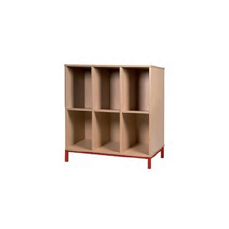 Visuel des étagères 6 casiers ouverts - DMC Direct