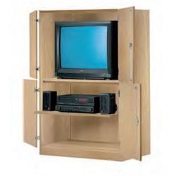 Visuel du meuble de rangement audiovisuel pour école - DMC Direct