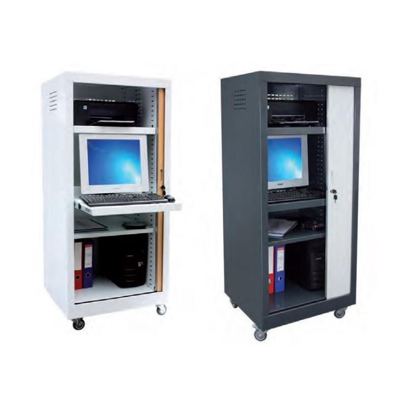 Visuel du meuble en métal informatique pour école - DMC Direct