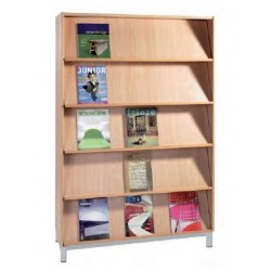 Bibliothèque présentoir de livres