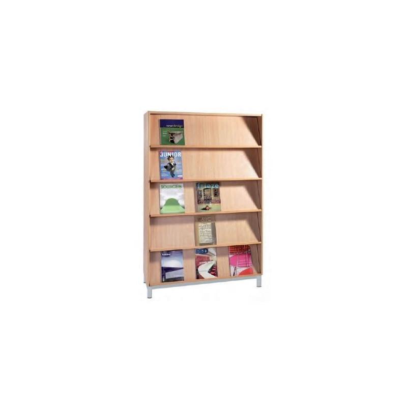 pr sentoir de livres pour biblioth que pr sentoir de biblioth que en m lamin. Black Bedroom Furniture Sets. Home Design Ideas