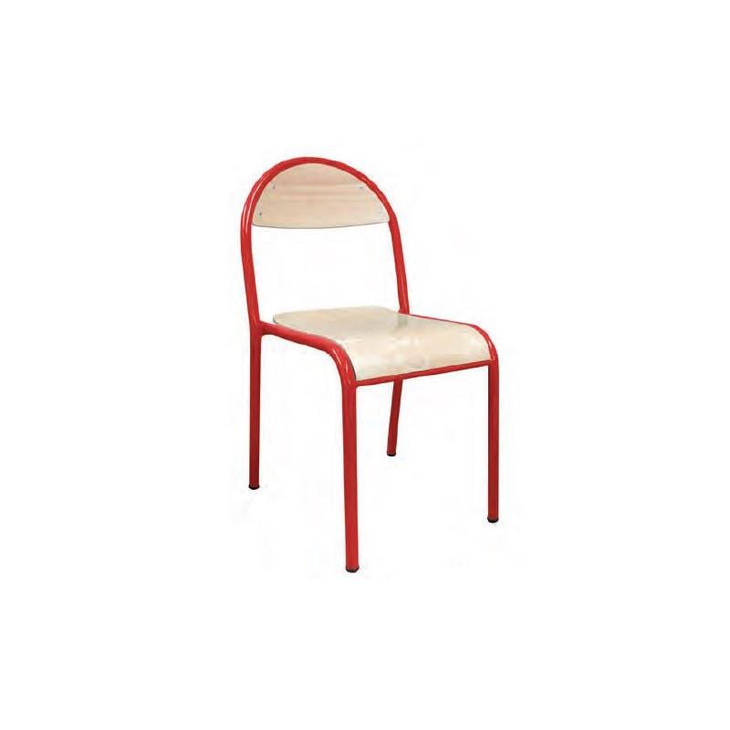 Visuel de la chaise scolaire 4 pieds empilable Cathy - DMC Direct